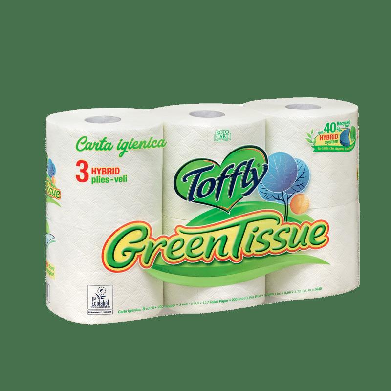 GreenTissue 6 rotoli